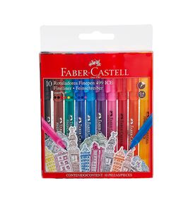 Faber-Castell - Marc. Finepen 499 Ice 30499 set x10