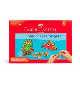 Faber-Castell - Set Marionetas Monster