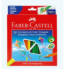 Faber-Castell - Ecolápices de color x 24
