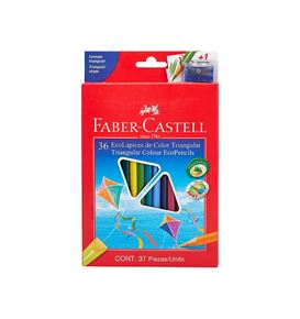 Faber-Castell - Ecolápices de color x 36